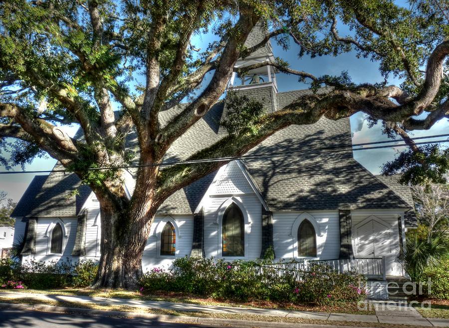 Ocean Springs Church Photograph
