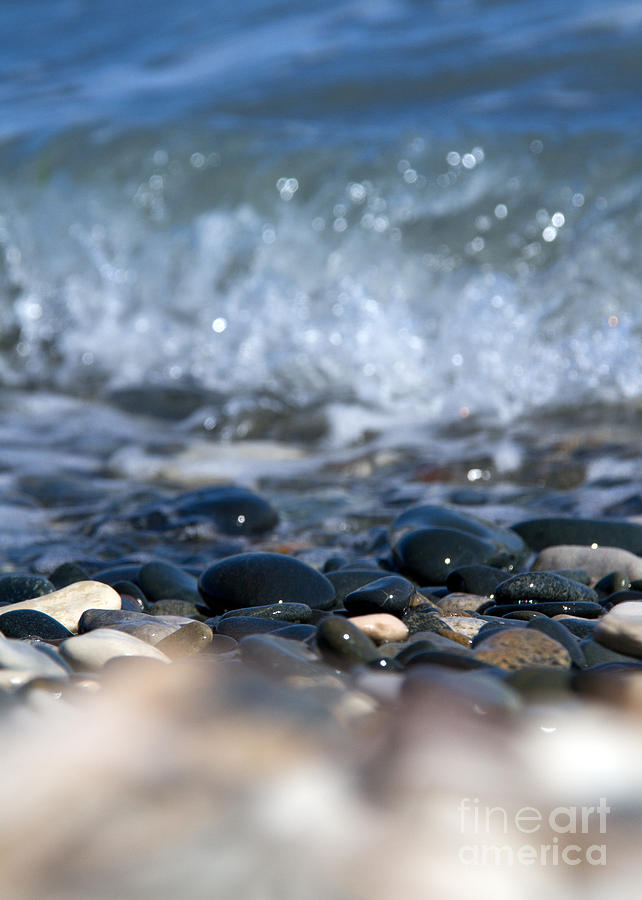 Abstract Photograph - Ocean Stones by Stelios Kleanthous
