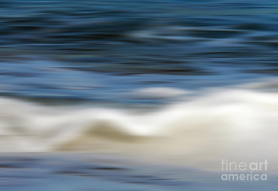 Ocean Stretch - Abstract Photograph  - Ocean Stretch - Abstract Fine Art Print