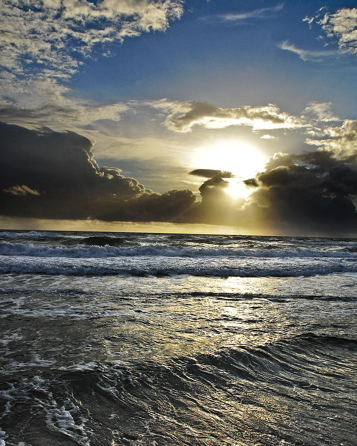 Ocean Sunrise Photograph