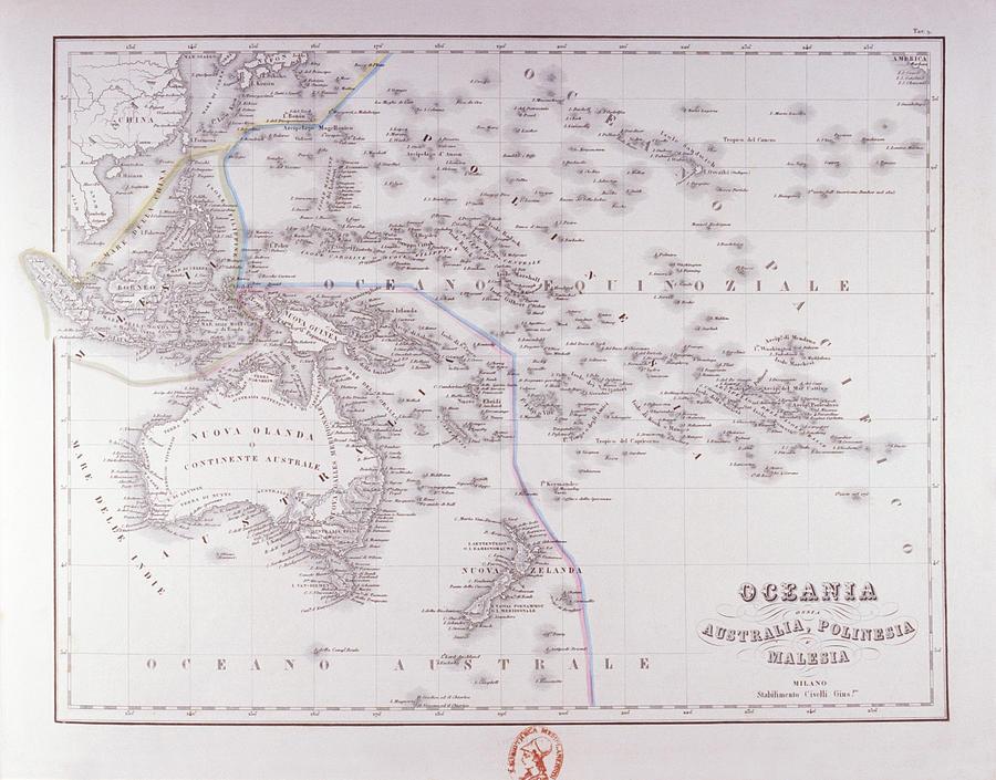 Oceania (australia, Polynesia, And Malaysia) Digital Art