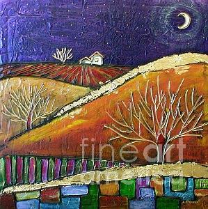 October   -sold- Painting