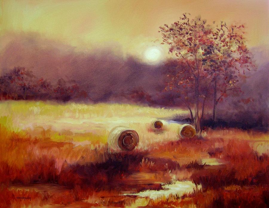 October Pasture Painting
