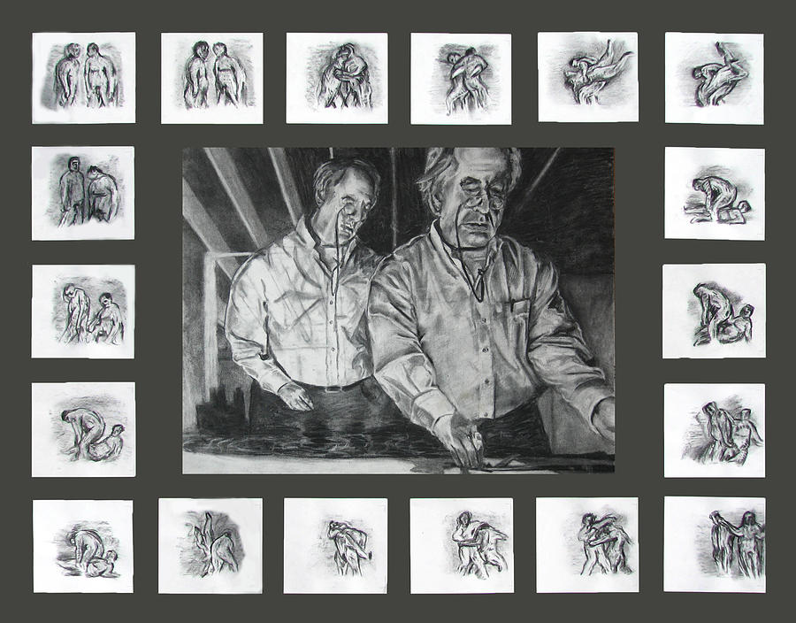 Ode To Kentridge Drawing