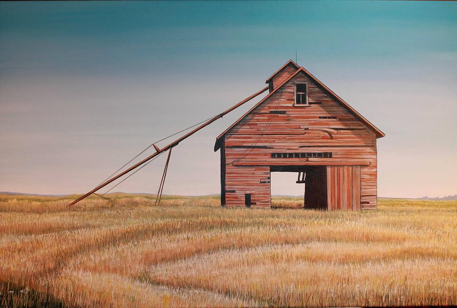 Odell Farm Painting  - Odell Farm Fine Art Print