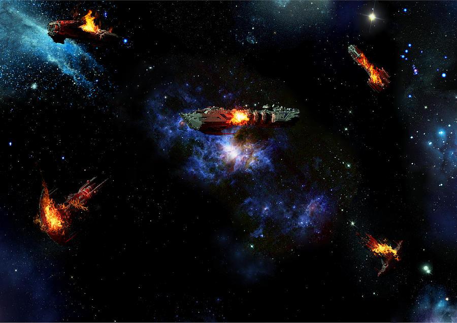 Off The Shoulder Of Orion Digital Art