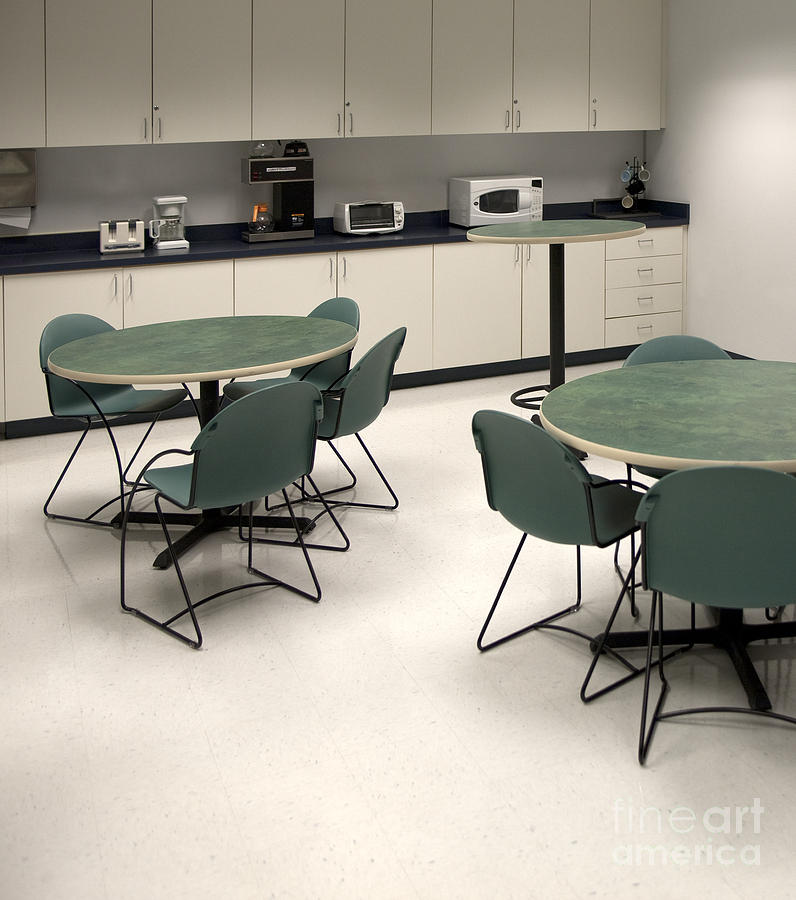 Architecture Photograph - Office Break Room by Will & Deni McIntyre
