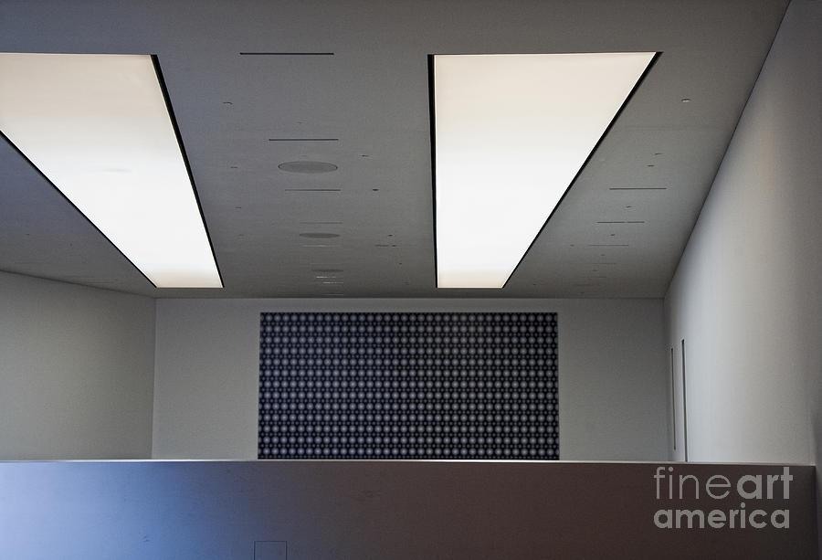 Bleak Photograph - Office Ceiling by David Buffington