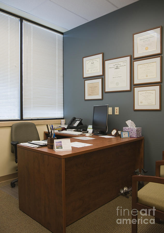Office Space Photograph  - Office Space Fine Art Print