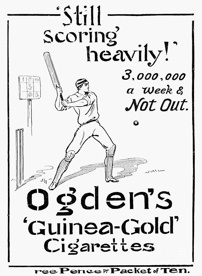 Ogdens Cigarettes, 1897 Photograph