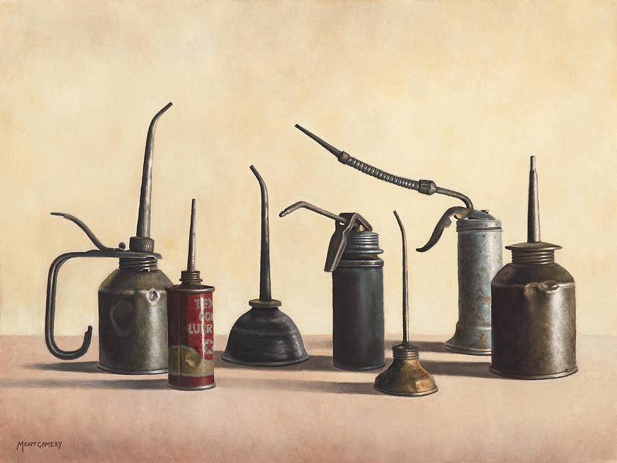 Oil Cans Painting