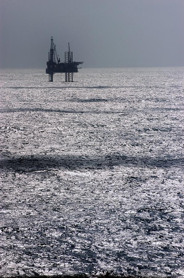 Oil Platform Photograph
