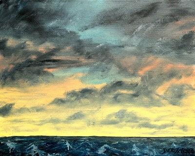 Oil Skyscape Painting Painting