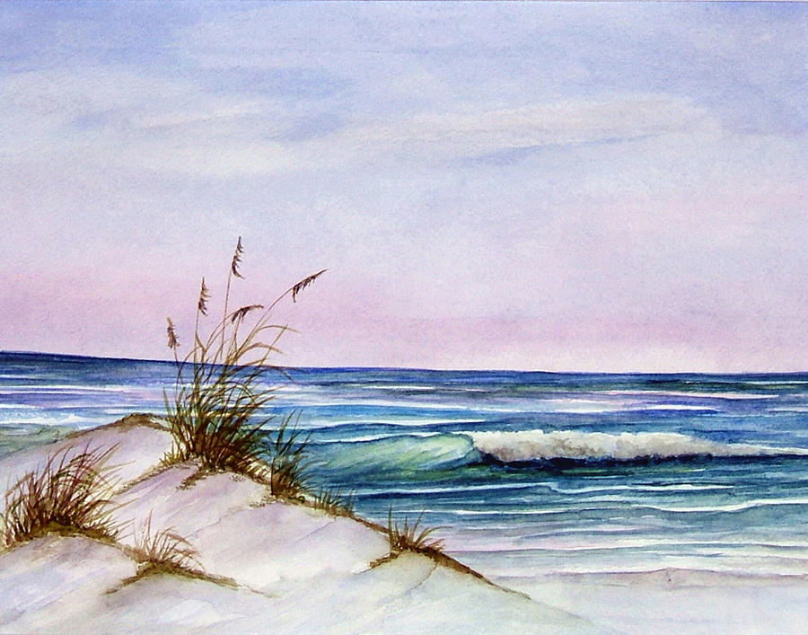 Okaloosa Beach Painting
