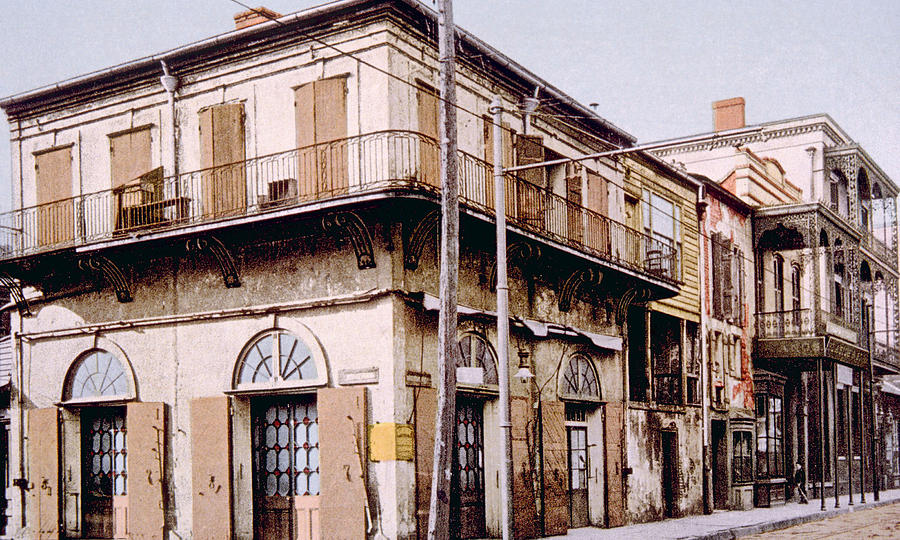 History Photograph - Old Absinthe House In New Orleans by Everett