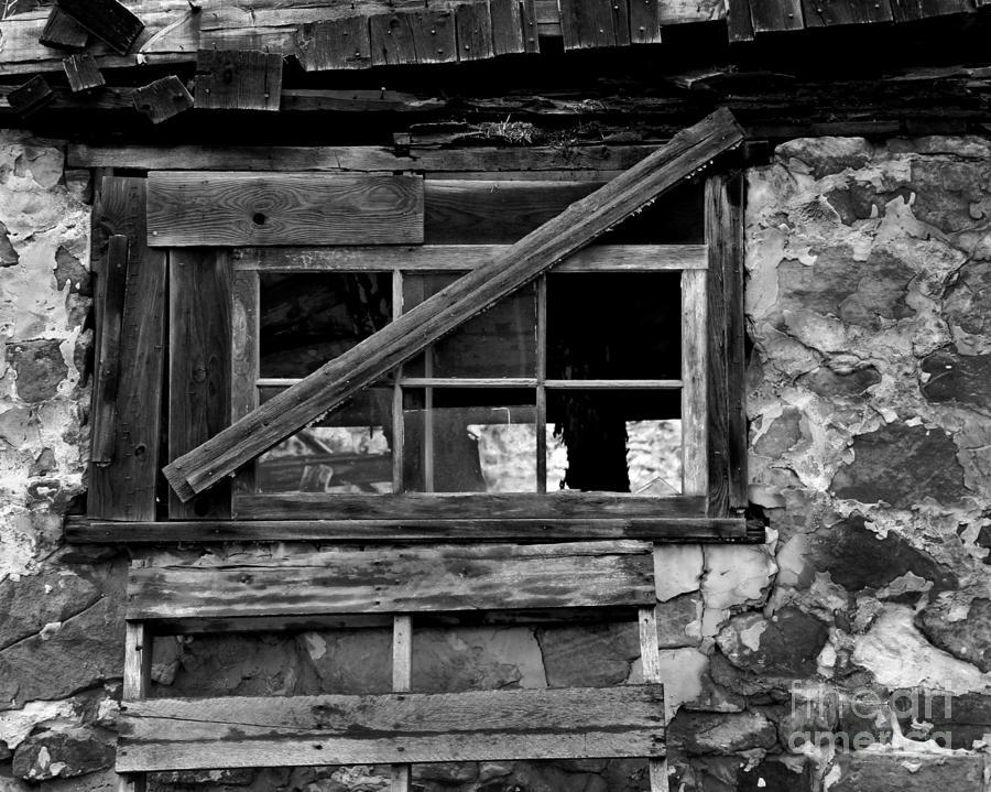 Old Barn Window Photograph