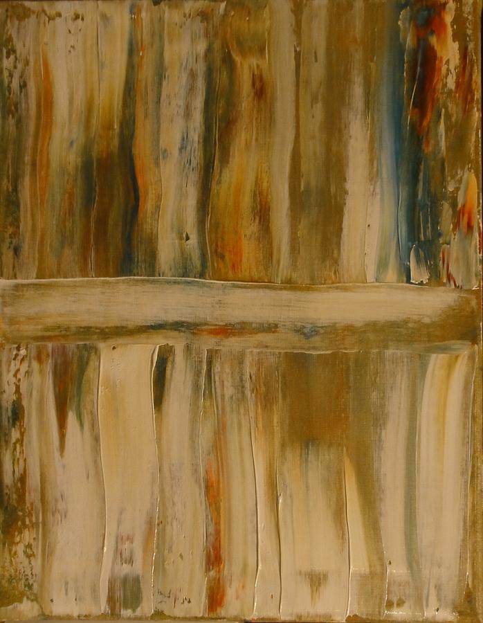 Old Barn Wood Painting By Vicki Pirtle