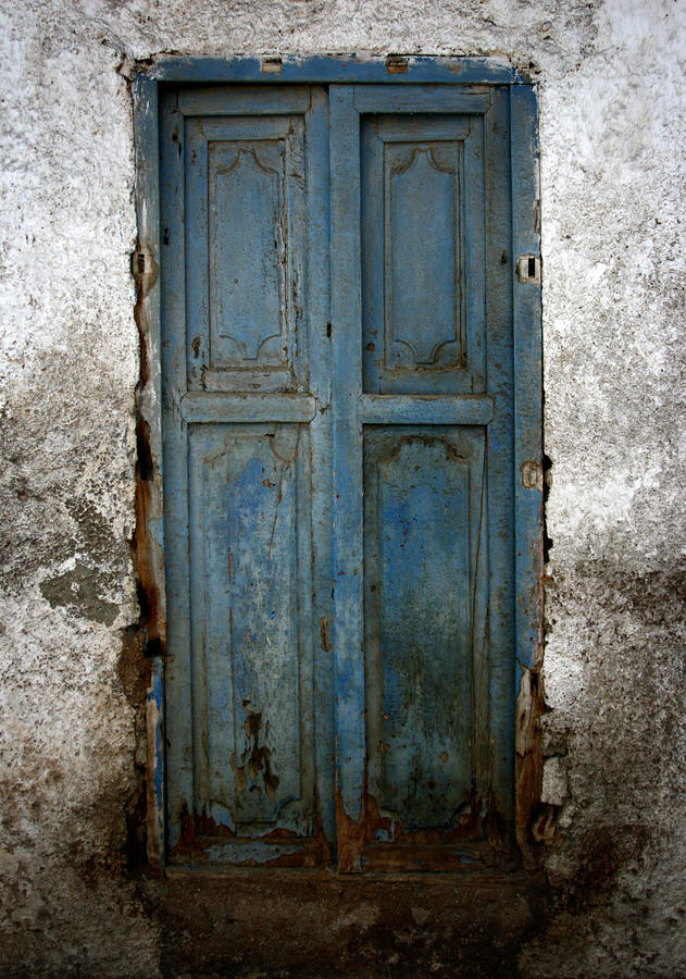 Old Blue Door Photograph