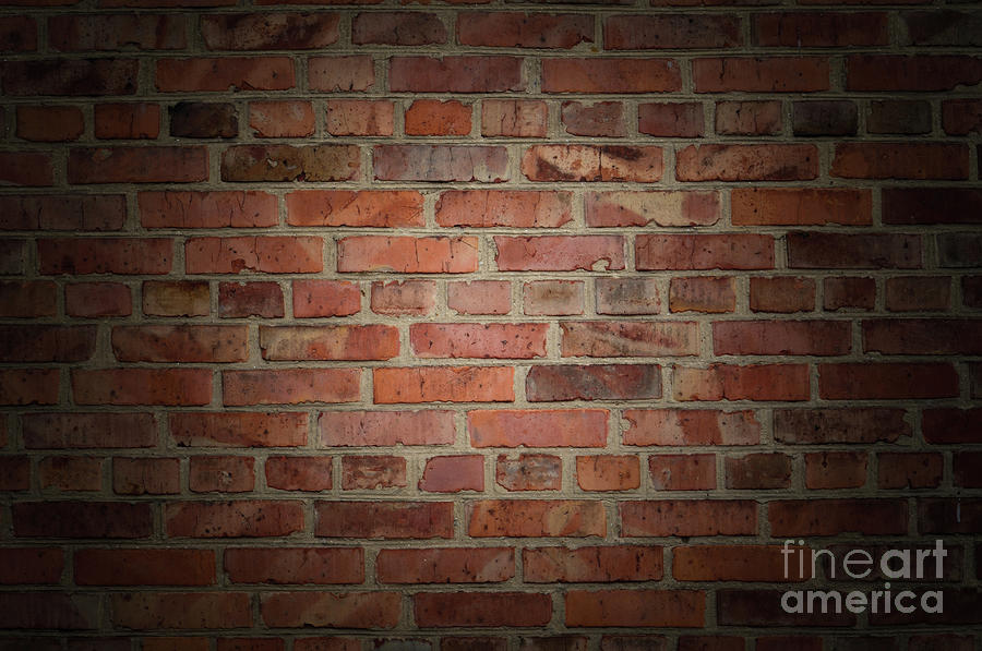 Wall Art For Brick : Old brick wall photograph by valerii kotulskyi
