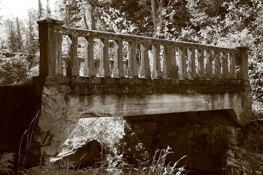 Bridge Photograph - Old Bridge by Paula Brown