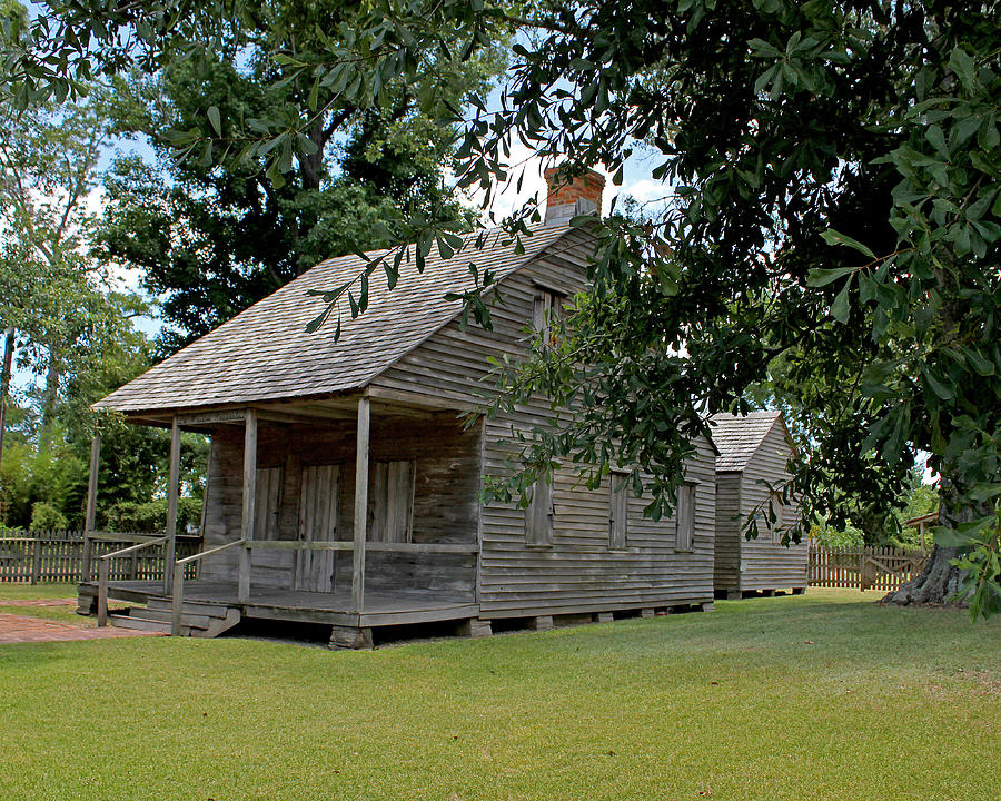 Old Cajun Home By Judy Vincent
