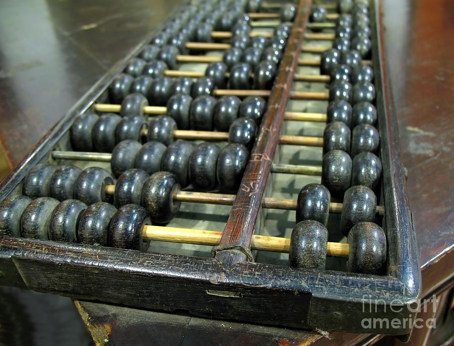 Old chinese abacus by yali shi for Abacus cuisine of china