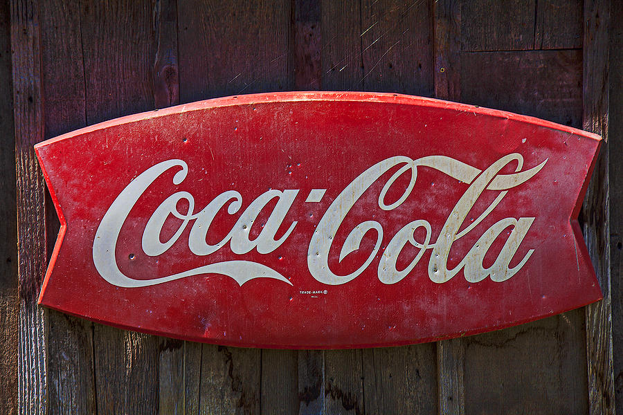 Old Coca-cola Sign On Barn Photograph
