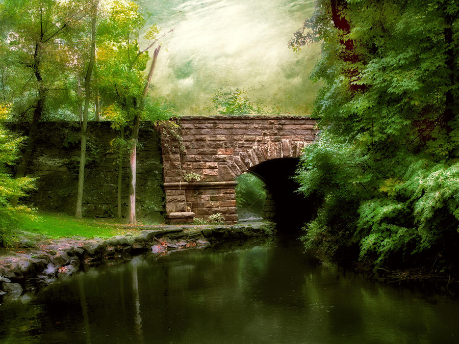 Old Country Bridge Photograph