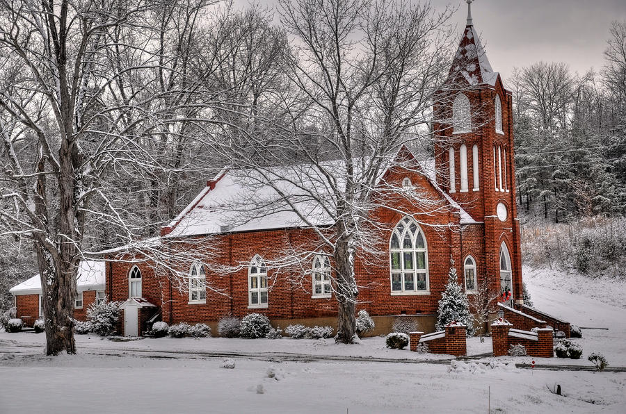 Old country church by todd hostetter