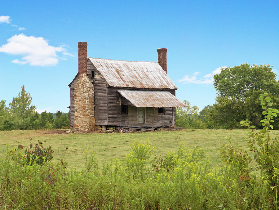 Old Country Farm House By Mike Covington Old Country