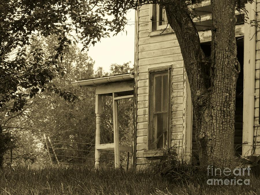 Old Country Porch Photograph  - Old Country Porch Fine Art Print