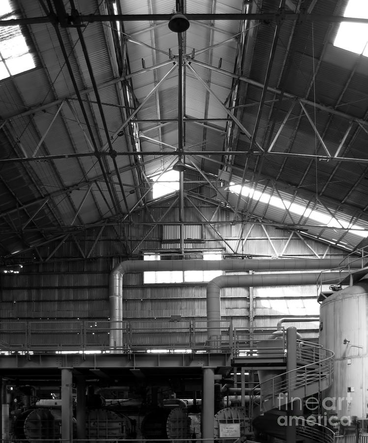 Old Factory Photograph  - Old Factory Fine Art Print