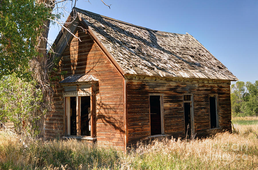 Artisans Custom Home Design Utah Old Farm Homestead Woodland Utah Photograph By Gary