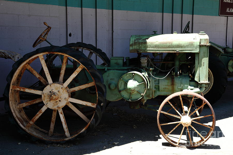 Old Farm Tractor . 5d16619 Photograph