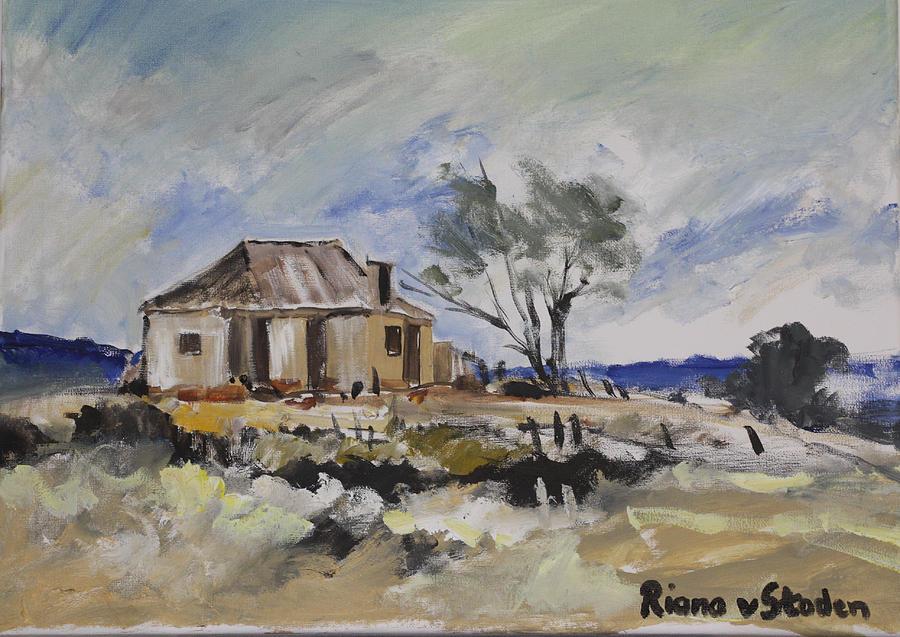 Old Farmhouse PaintingOld Farmhouse Painting