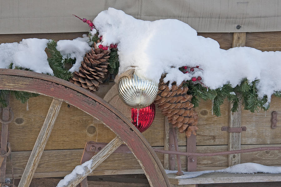Old-fashioned Christmas 4 - Gardener Village Photograph by ...