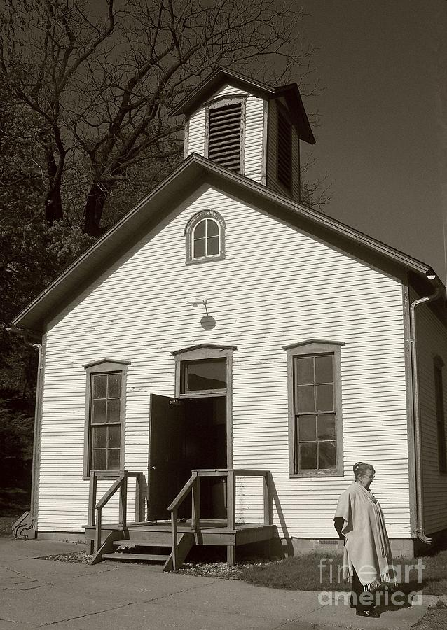 Old Fashioned Houses Fair With OldFashioned Schoolhouse Photo