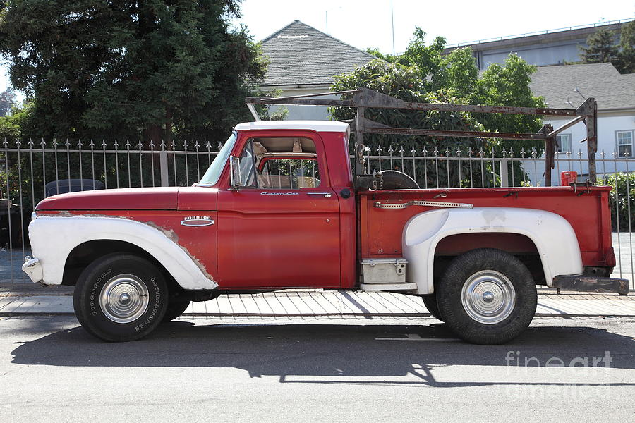 Old Ford 100 Truck . 5d16794 Photograph  - Old Ford 100 Truck . 5d16794 Fine Art Print