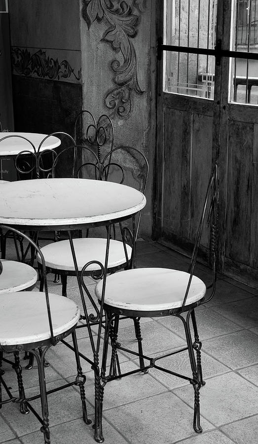 Vertical Photograph - Old Ice Cream Parlor by Maryann Flick