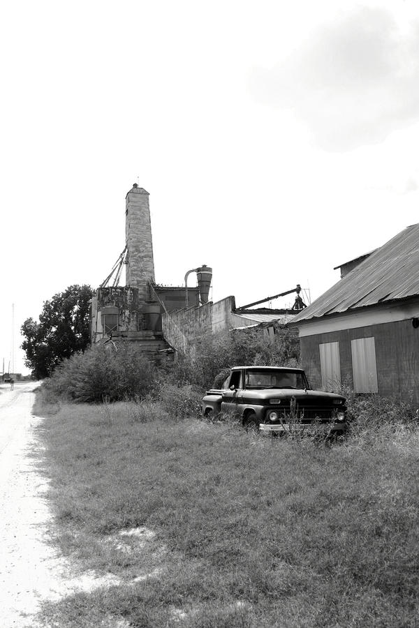 Old In Texas Photograph