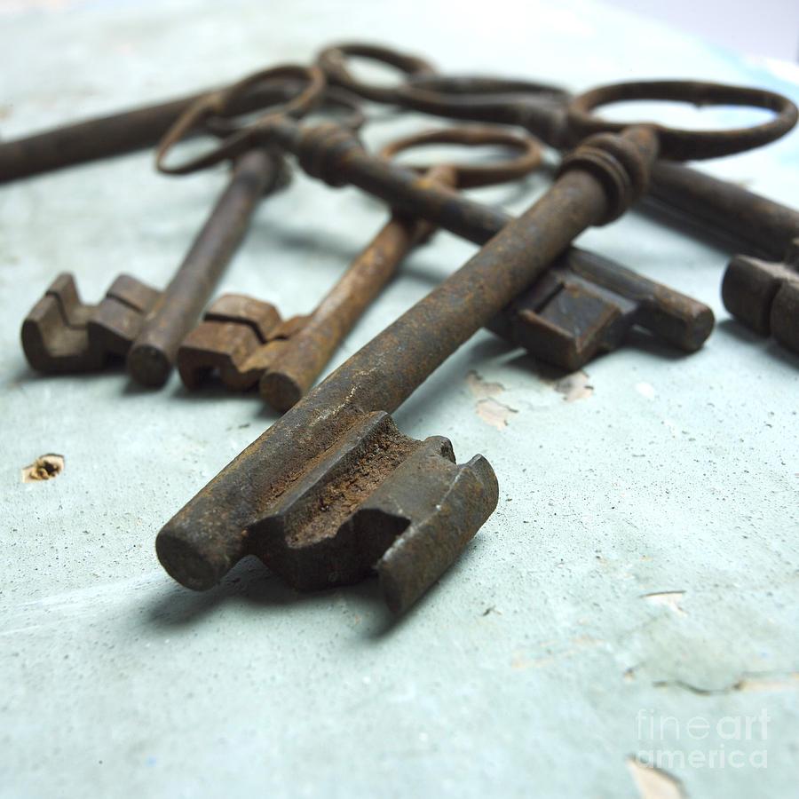 Old Keys Photograph