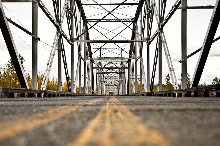 Old Knik Bridge Photograph  - Old Knik Bridge Fine Art Print