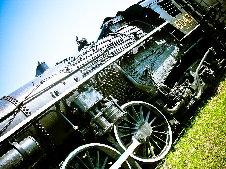 Old Locomotive 01 Photograph  - Old Locomotive 01 Fine Art Print