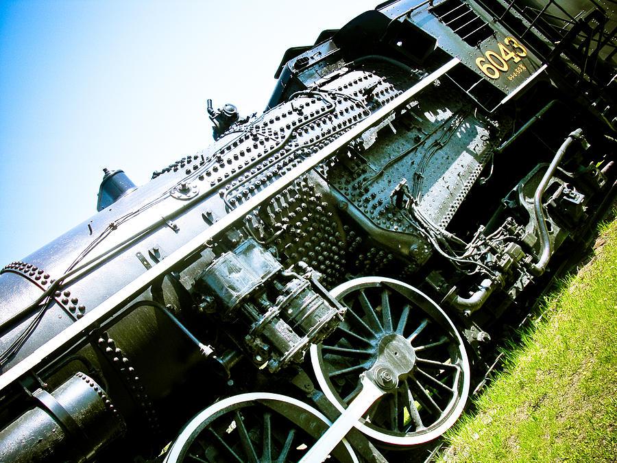 Old Locomotive 01 Photograph