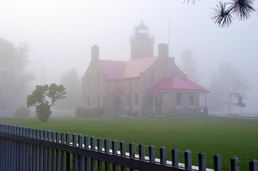 Old Mackinac Point Lighthouse Photograph