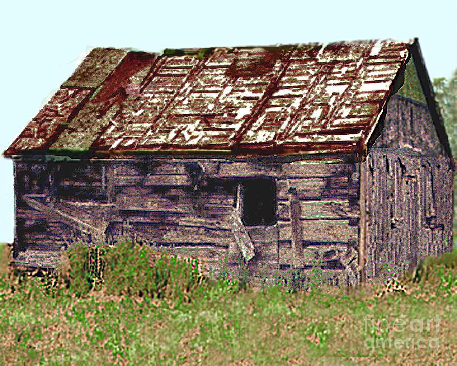 Old Miners Cabin Leadville Colorado Photograph By Merton Allen