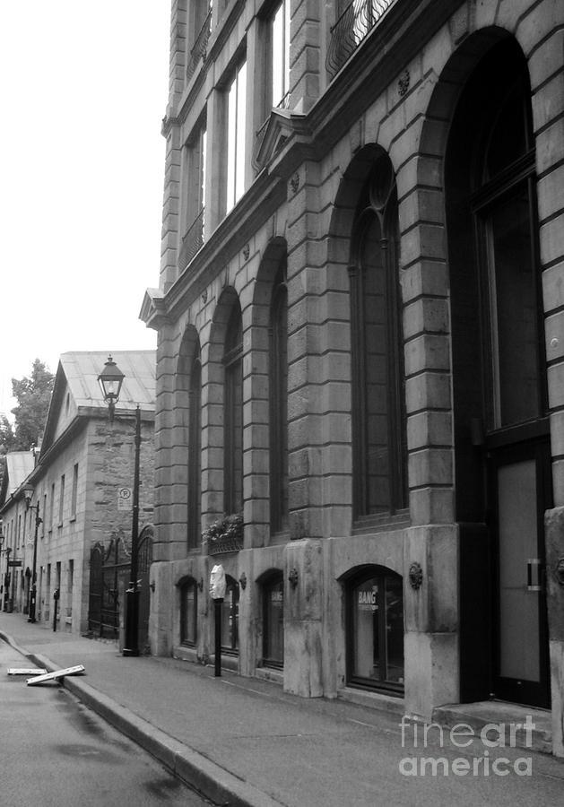 Old Montreal Street Scene Photograph