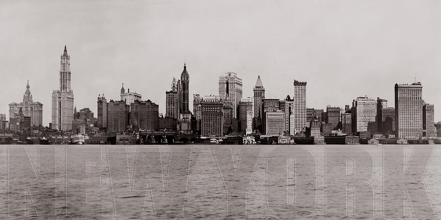 Old New York Photograph  - Old New York Fine Art Print