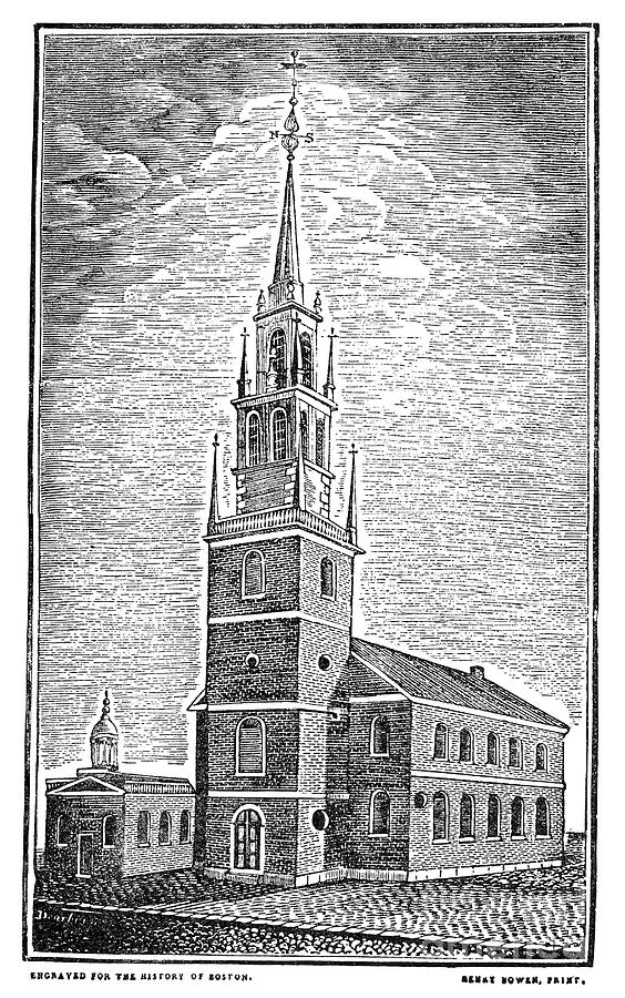 Francois Illas New Tradition: Old North Church, 1775 By Granger