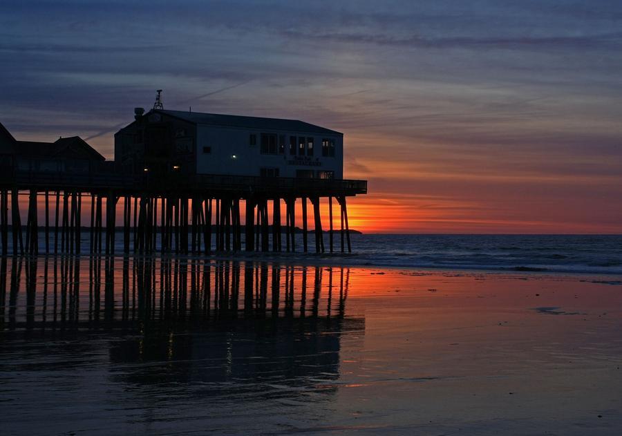 Old Orchard Beach Sunrise Photograph